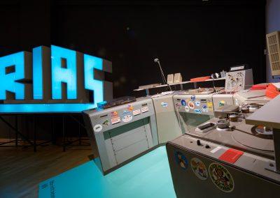 """Sendeplatz Südwestfunk, 1980er Jahre Ausstellung  """"ON AIR. 100 Jahre Radio"""""""