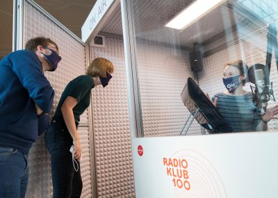 AUF SENDUNG GEHEN IM RADIO KLUB 100!
