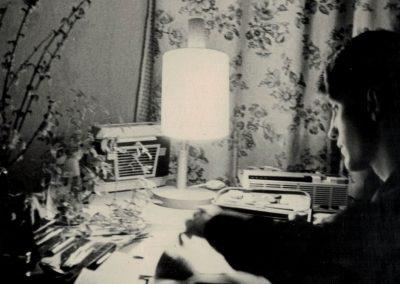 """Foto-Aktion """"Ich und mein Radio"""": 1968 mit Reisesuper Sylva 58"""