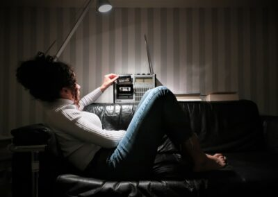 """Foto-Aktion """"Ich und mein Radio"""": Immer noch klasse: der SABA von 1979"""