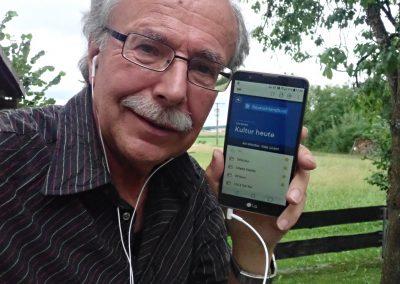"""Foto-Aktion """"Ich und mein Radio"""": DAB+ unterwegs hören auf dem Handy"""