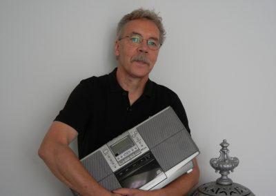 """Foto-Aktion """"Ich und mein Radio"""": Mein Rock-Pop-Blues Frühstück nie ohne Radio"""