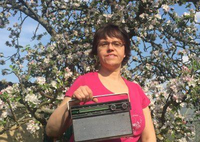 """Foto-Aktion """"Ich und mein Radio"""": Radiofrühling - wir blühen auf"""