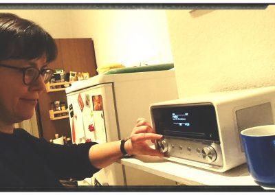 """Foto-Aktion """"Ich und mein Radio"""": Ich und mein Küchenradio"""
